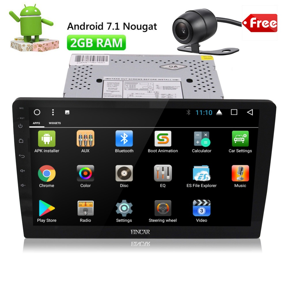 10.1 Inch Android 7.1 Digital Multi Touch Screen Car