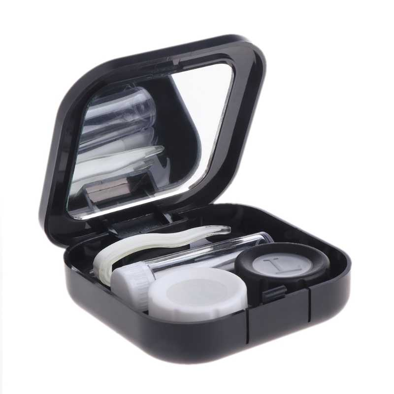 Contact Lens Case Eyes Care Kit Holder Container Gift Travel Portable Accessaries