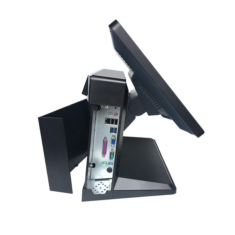 15 Inch Pos System All In One Touch Screen PC With MSR/WIFI/VFD