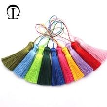 12pcs/lot fat tassel silk fringe sewing bangs flower trim decorative key tassels for curtains home decoration accessories