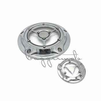 RSD Motorcycle Derby Cover & Timing Timer Covers CNC Aluminum 5 Hole For Harley Road King Softail Dyna FLHRS FLTFB Chrome Black