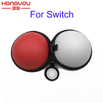 30pcs Carrying Case Cover for NS Switch Poke Ball Plus Controller Eevee For Nintend Switch Storage Bag EVA Protective Game