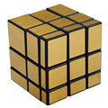 Shengshou Creative 3 x 3 x 3 Golden Mirror Cube Speed Magic Cube Puzzle special toy gift for Educational Brain Toy for kids