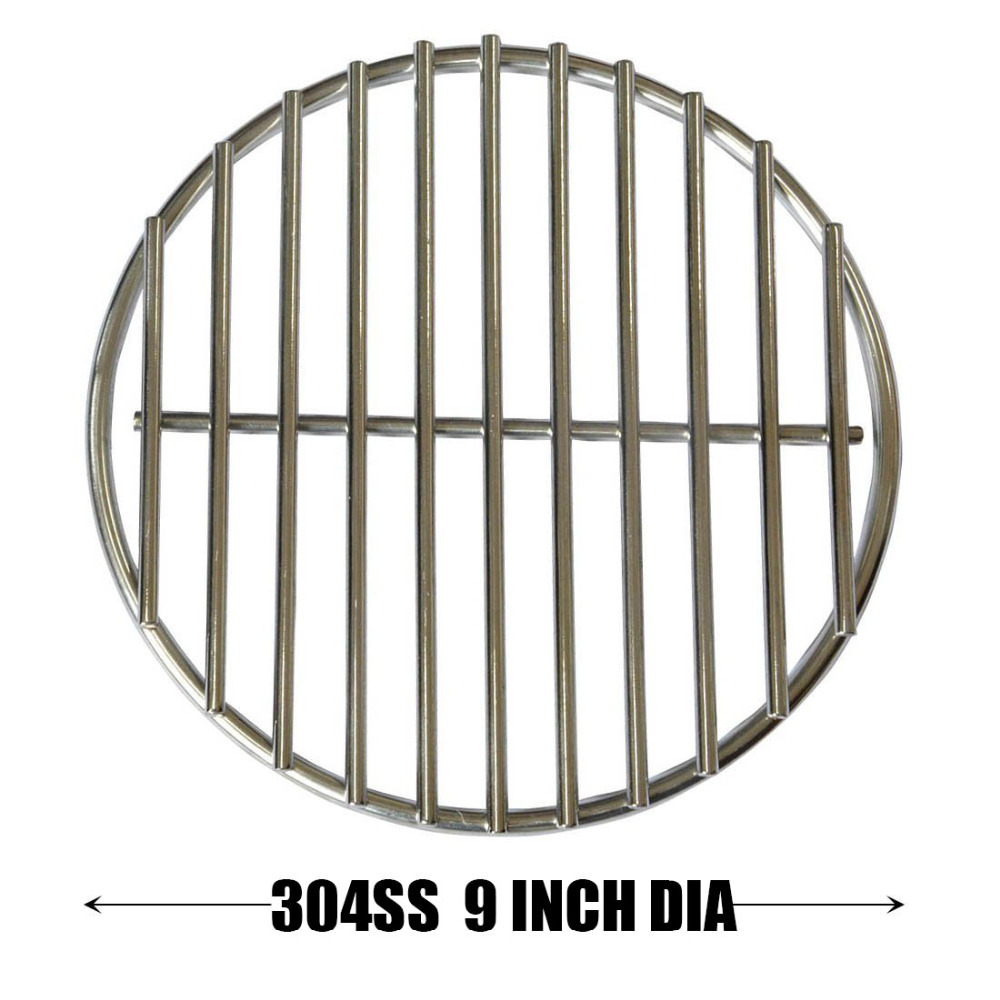 Stainless High Heat Charcoal Fire Grate Upgrade for Medium Big Green Egg Grill