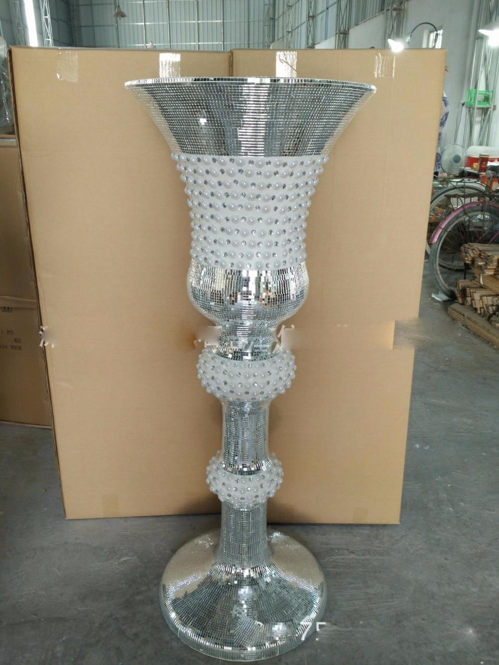 Novelty Set Auger Floor Vase Of The Living Room Hotel KTV Decorative Big  Size Vase( Part 53