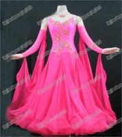 High Quality Waltz Tango dance Dress competitive Ballroom dance dress, crystal stones chacha,salsa dance ballroom dress B-0090