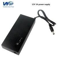 Ricaricabile ininterrotta alimentazione 12 V 3A ups router cellulare batteria di backup di alimentazione con batteria al litio 5c