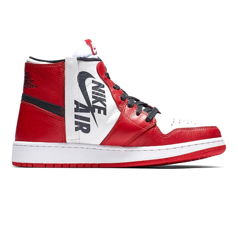 buy popular fc1c9 2c197 Nike AIR JORDAN 1 REBEL XX OG Women Basketball Shoes Shock Absorbing  Breathable AT4151 001 AT4151 100