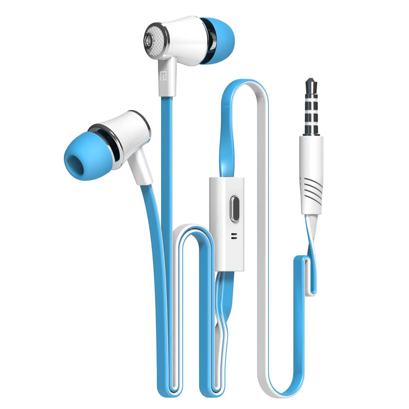Earphone Headset with Mic for Mobile phone Original Brand Earbuds JM26 Headphone Noise Isolating in ear for iphone 6 Samsung awei headset headphone in ear earphone for your in ear phone bud iphone samsung player smartphone earpiece earbud microphone mic