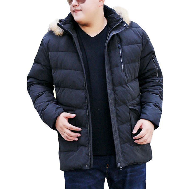 MFERLIER Autumn Winter Thick Jackets 6XL 7XL 8XL 9XL 10XL Large Size Keep Warm Causal Long Sleeve Winter Coats