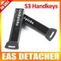 S3 Handkey Color Black Lockpicks EAS Display Hook Hanger Releaser Magnetic Security Detacher