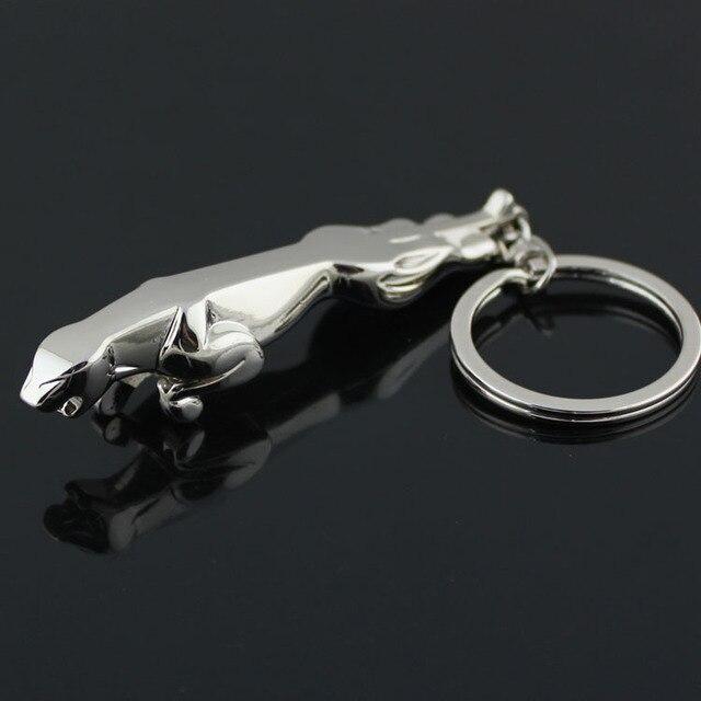 Lovely Three Dimensional Jaguar Car Logo Keychain Cool Keychain For Men Car  Accessories Novelty Items Innovative