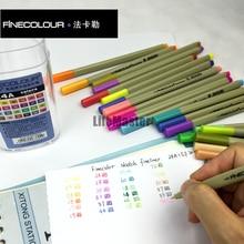Lifemaster Finecolour Phác Thảo Liner 0.3 Mm 24 Bộ Màu Nhạt Màu/Thông Thường Màu Bút Vẽ Thêm Mịn Hoàn Hảo manga Thiết Kế