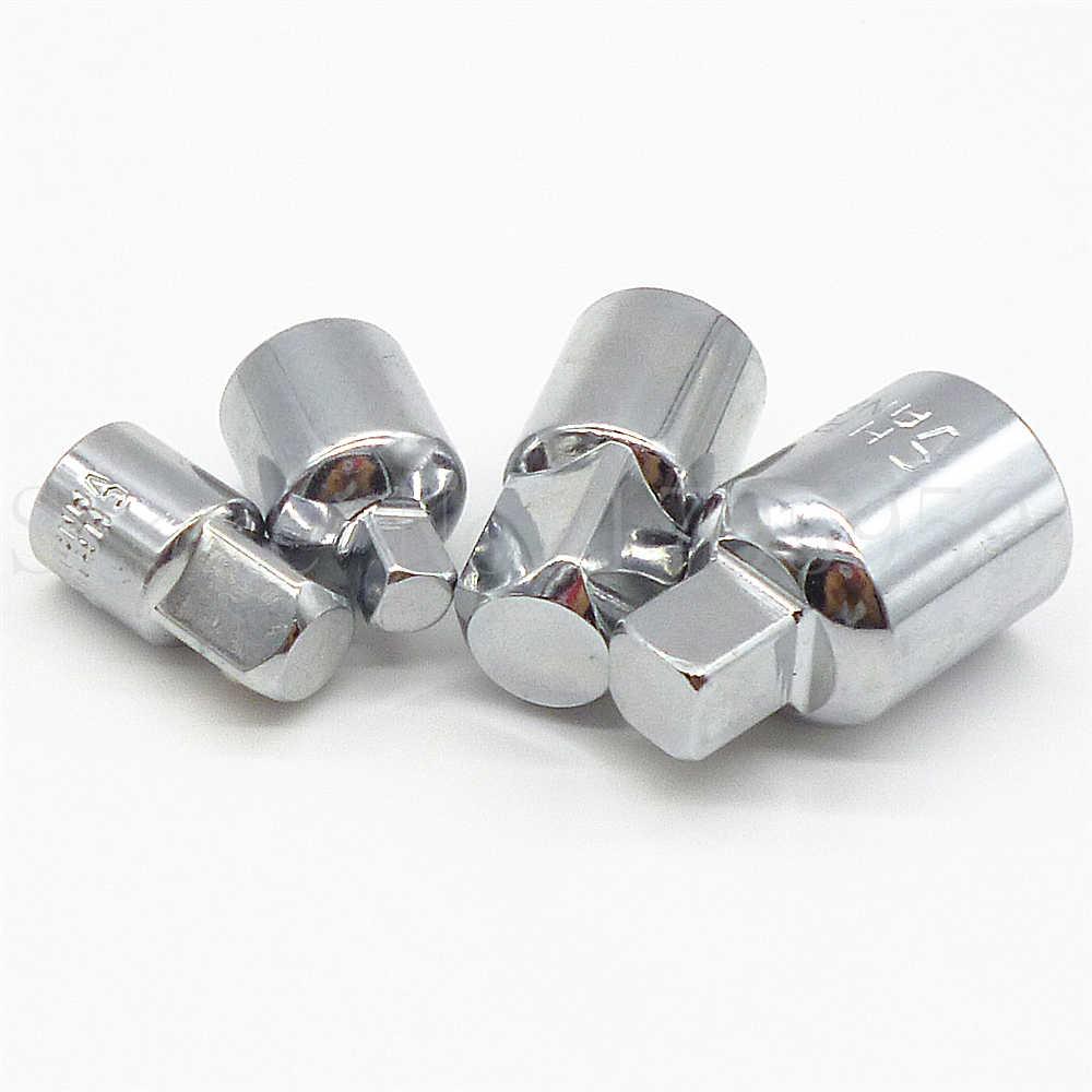 """4 Uds adaptador de enchufe convertidor reductor trinquete herramienta Set 1/2 """"1/4"""" 3/8 """"enchufe de impacto convertidor de llave inglesa adaptador herramientas de mano"""