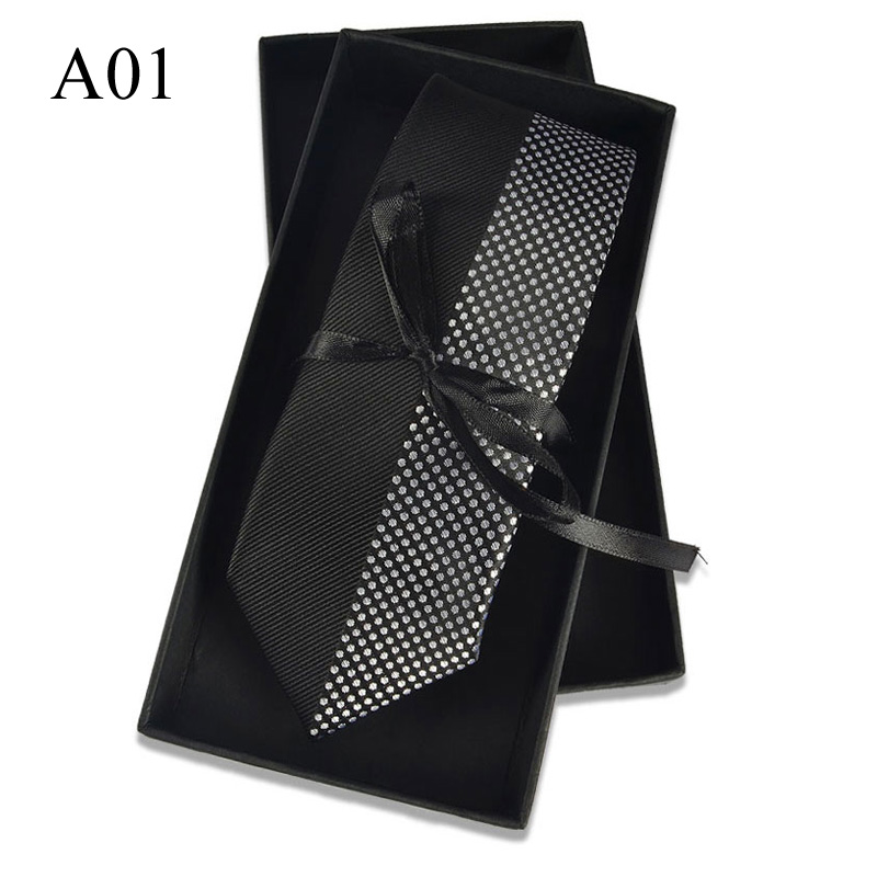 New Jacquard Woven Neck Tie For Males Traditional Examine Ties Trend Polyester Mens Necktie For Wedding ceremony Enterprise Swimsuit Plaid Tie HTB1