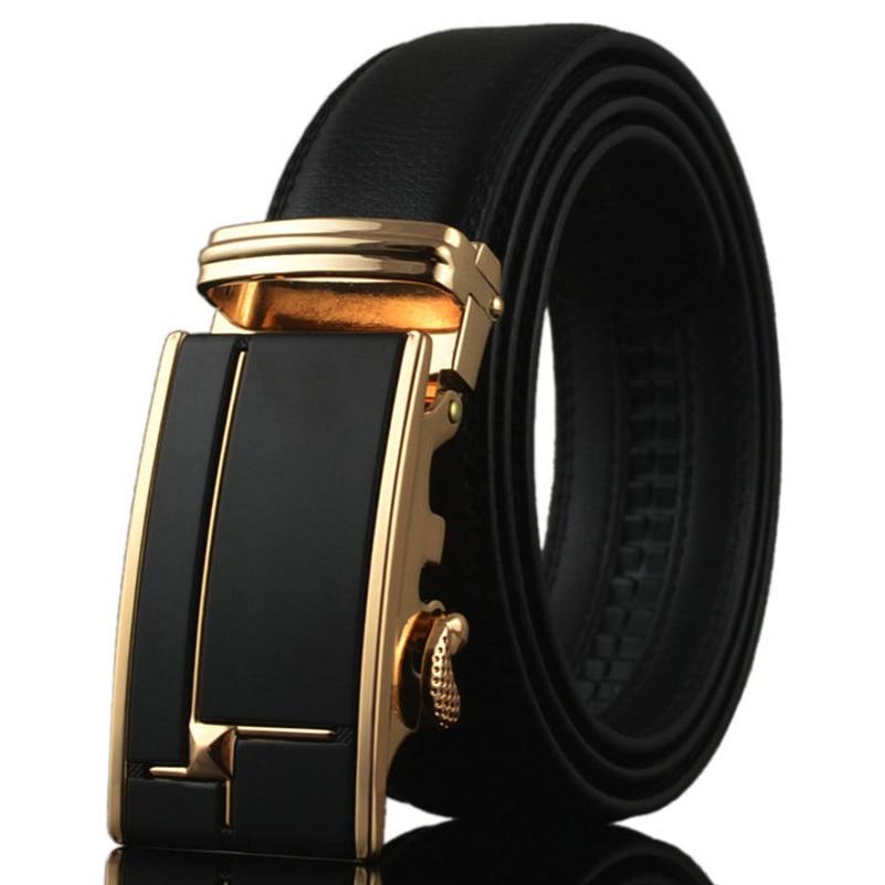 100% Genuine Leather Belts for Large Man 2018 Designer Fashion Mens Luxury 35mm Wide Waist Straps Jeans Black Belt High quality