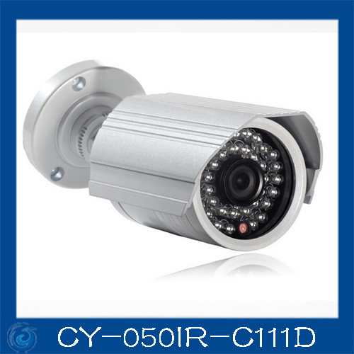 cheap cctv camera,Color 1/3 SONY 420TVL,24pcs led / 20m IR distance,3.6/6mm board lens,CY-050IR-C111E