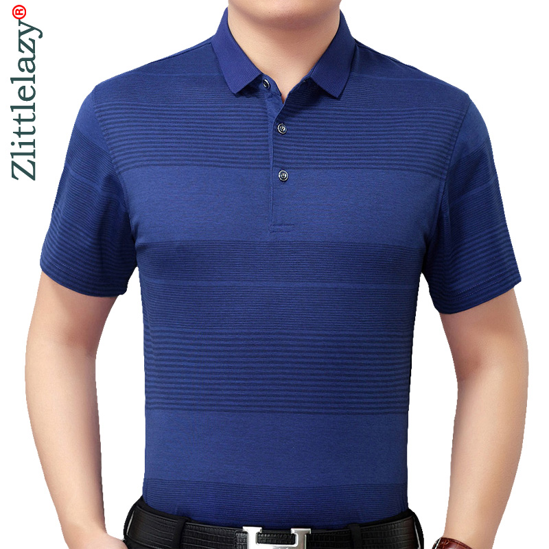 Summer   polo   shirt men short sleeve   polos   shirts striped slim fit mens pol clothes dress bodybuilding streetwear poloshirt 8378