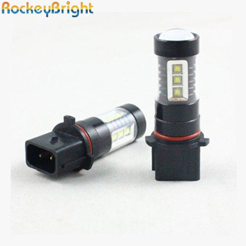 Psx26w Hiace Cree Q5 Chips Led Bulbs 11w White 6k 12v Car Auto Drl Foglight #sd7 X 2pcs Car Fog Lamp