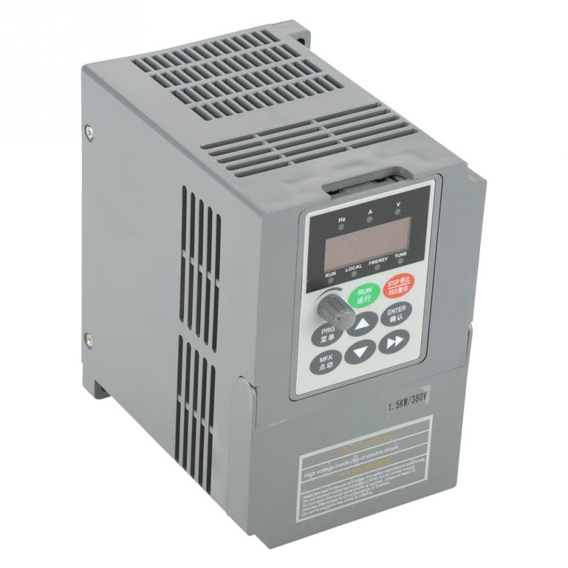 цена на 1 PC 1.5KW Variable Frequency Drive 380V Frequency converter Universal Three- Phase Variable Frequency Drive Converter inverter