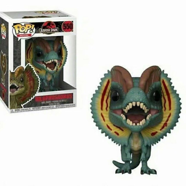 Funko POP Jurassic Park & Dinosaur PVC Action Figure Collection model toys birthday Gift 2