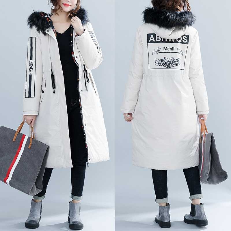Women Winter Thicken Warm Down Cotton Pad Casual Hooded Fur Collar Coat Double Sided Wear Jacket Maternity Outerwear pregnancy winter jacket female parkas hooded fur collar long down cotton jacket thicken warm cotton padded women coat plus size 3xl k450