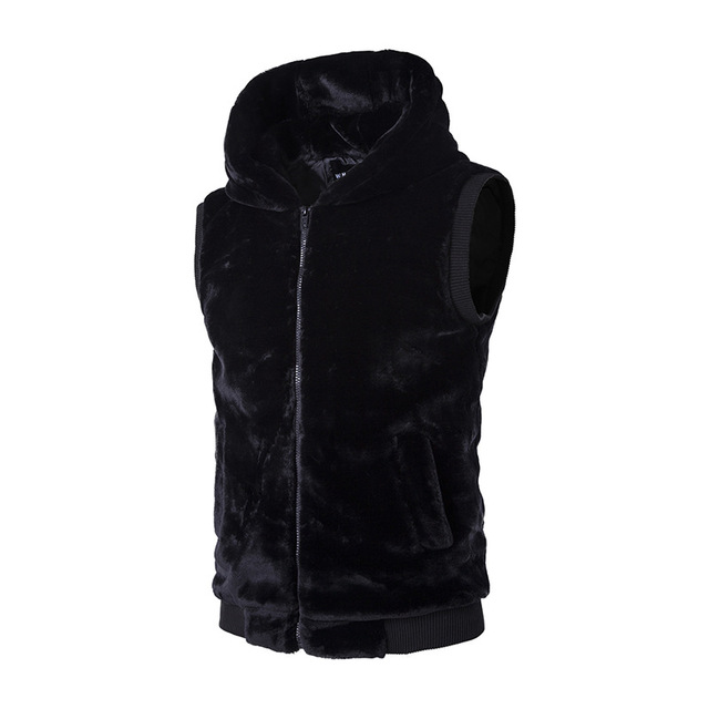 Aliexpress.com : Buy New winter fashion men's Hooded Sweater Vest ...