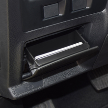 bucada lhd car fuse armrest storage box coin cards tray holder for subaru  xv forester