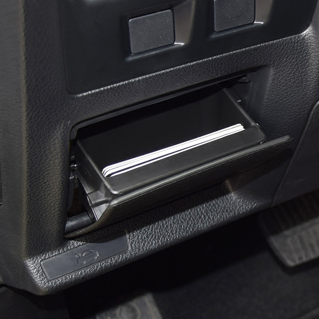 lhd car fuse box armrest storage box coin cards box tray holder for subaru  xv forester impreza outback legacy wrx sti