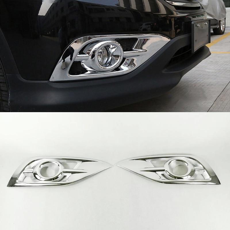 2Pcs Glossy Chrome Mirror Cover Rearview Trim For Honda CRV CR-V 2007-2011 x