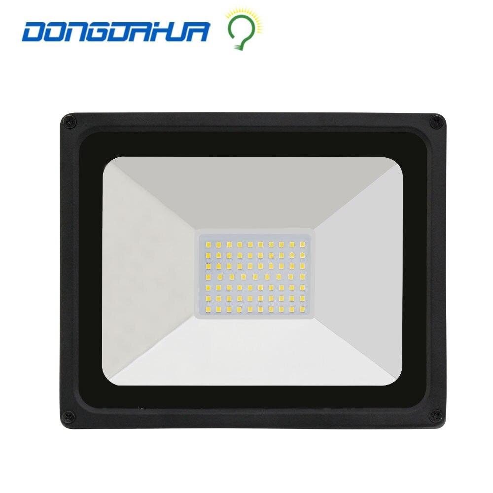 HA CONDOTTO LA luce di inondazione 50 W Nero 110v 220v low price impermeabile IP65 Spotlight