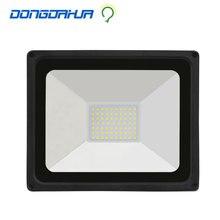 HA CONDOTTO LA luce di inondazione 50 W Nero 110v 220v low price impermeabile IP65 Spotlight Proiettore Illuminazione Esterna