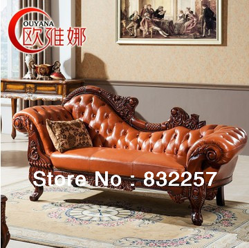 High Grade European Style Royal Genuine Leather Sofa ,Chaise Longue,Beauty  Couch,Sofa Bed,Solid Wood In Living Room Sofas From Furniture On  Aliexpress.com ...