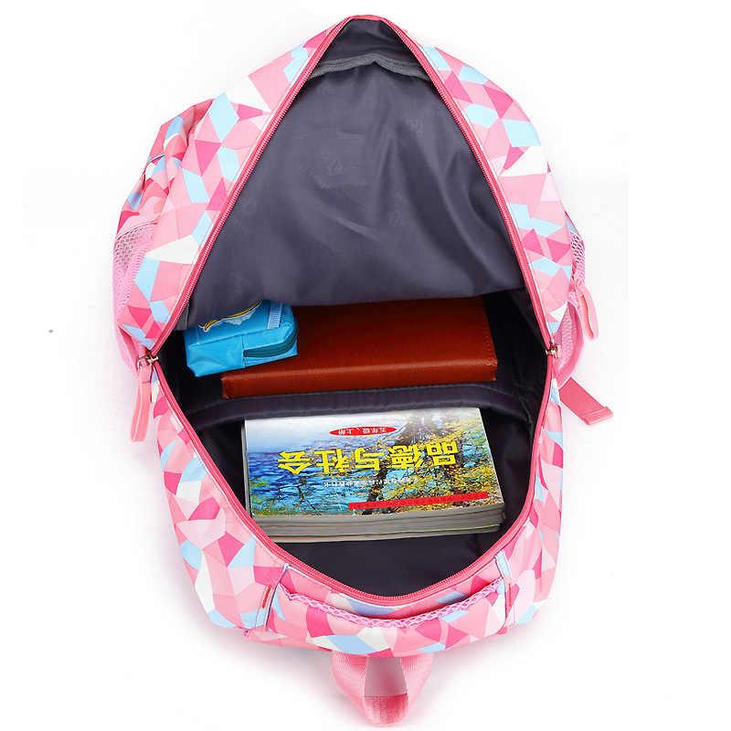 Kid's De Viagem Rolando bagagem Saco Do Trole Da Escola Mochila meninas mochila Sobre rodas da Menina Da Escola Do Trole com rodas Mochilas Criança