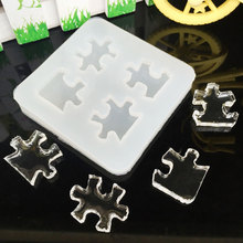 Liquid silicone mold DIY resin jewelry pendant necklace molds for 3D making sil