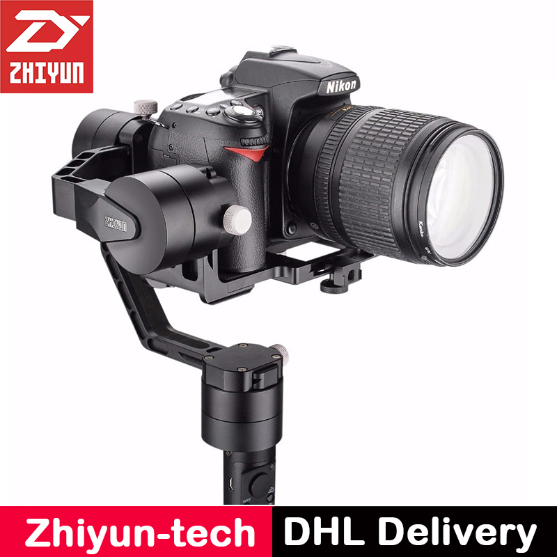Zhiyun Crane V2 3-Axis Handheld Camera Gimbal 3 Axis Video Stabilizer 3 32Bit Brushless Motors for Canon Nikon Mirrorless Camera bestablecam h4 rtf brushless handheld encoder mirrorless digital camera gimbal gyro stabilizer for gh3 gh4 a7s nex5 bmpcc