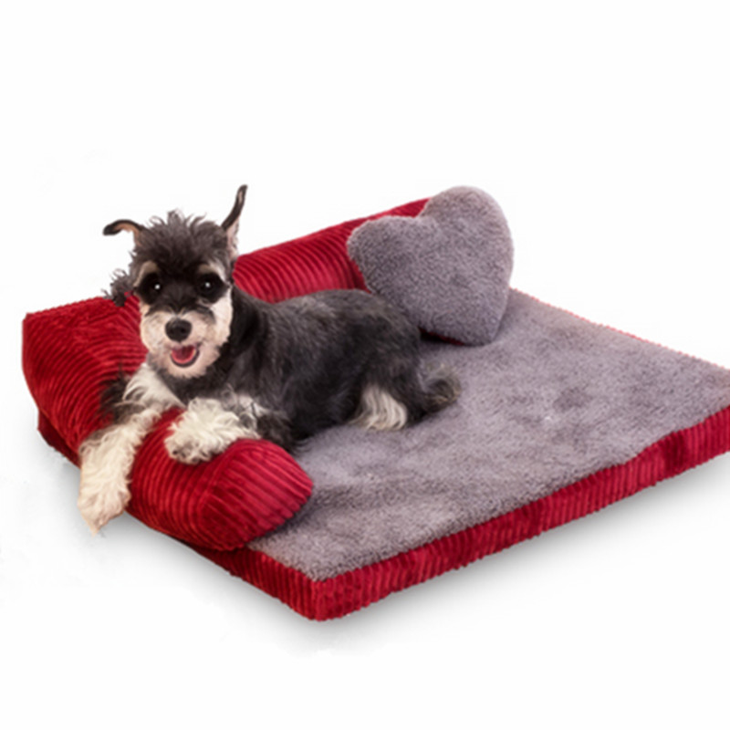 Thickened Pet Dog bed Sofa Mat soft Detachable deign Resistance to bite Large Dog Cat Bed Indoor pet house GP16-0401-19