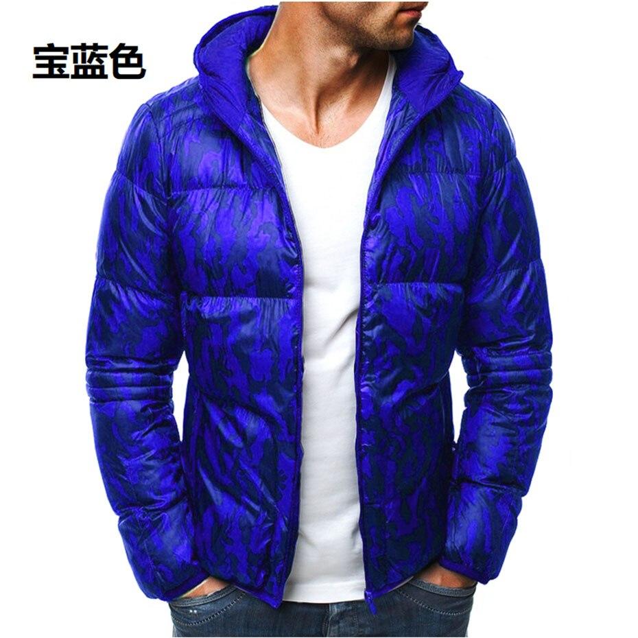 ZOGAA 2019 New Fashion Spring Cotton Coat Men Clothes Casual Stand Collar Slim Fit Men Jacket Cotton   Parkas   Men Winter Coat