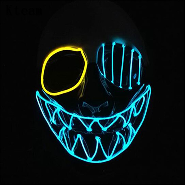 New Glowing Payday 2 Mask PVC The Heist Wolf/Hoxton