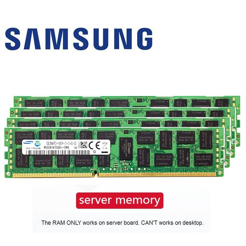 Samsung 4GB 8GB 16GB 4G 8G 16G DDR3 PC3 1333 1600Mhz 1866Mhz  1333Mhz 1333 1600 1866 PC Server PC Memory RAM Memoria Module RIMM