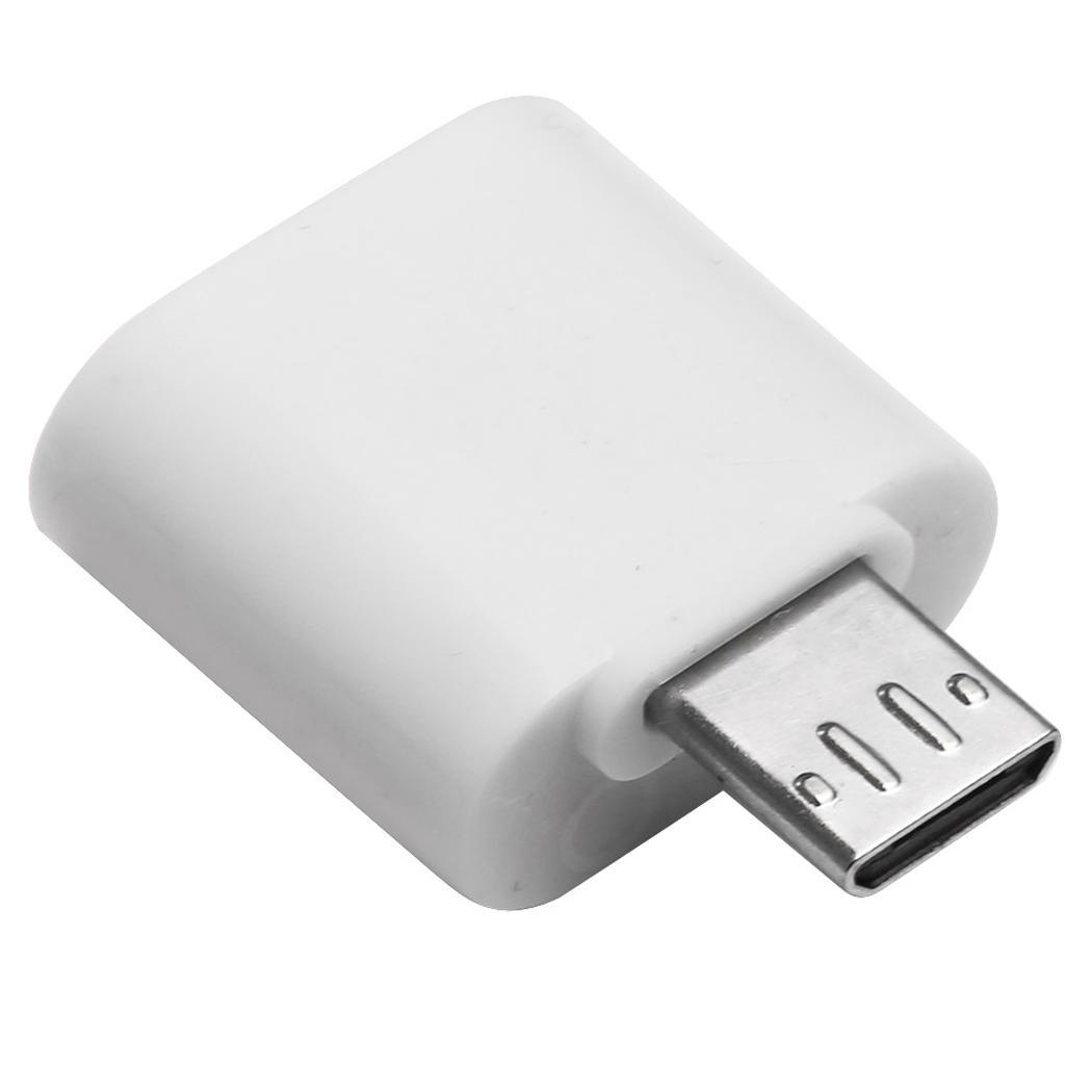 Micro USB To USB 2.0 OTG Home, Office, Travel, Etc. Fast Charging Device Data Sync Converter Adapter For Phone
