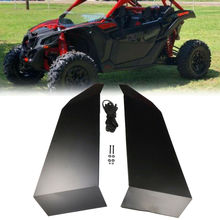 UTV Doors Lower Door Inserts Panels For Can am maverick  X3 XDS/Turbo XRS/R XRC/Turbo Aluminum 2017 2018