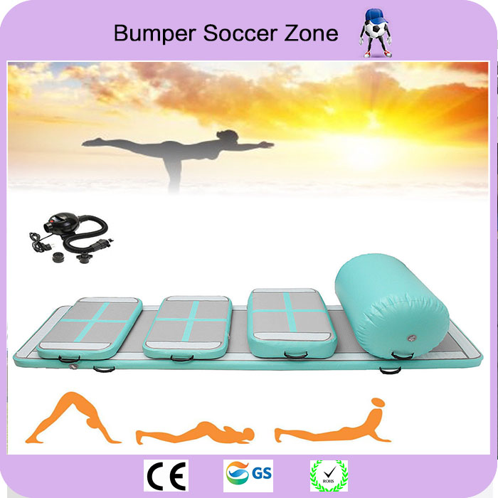 Free Shipping Inflatable Air Track Trampoline Tumble Track Gymnastics Inflatable Air Mat Air Roller Come With a Pump free shipping 3 1m inflatable air track inflatable air track gymnastics gym air track inflatable gym mat trampoline inflatable