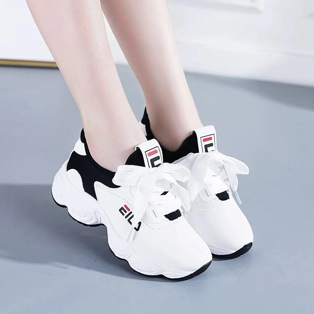 2019 Brand Running Shoes Women White Platform Shoes Ladies Chunky Sneakers Trainers Basket Femme Zapatillas Deportivas Mujer
