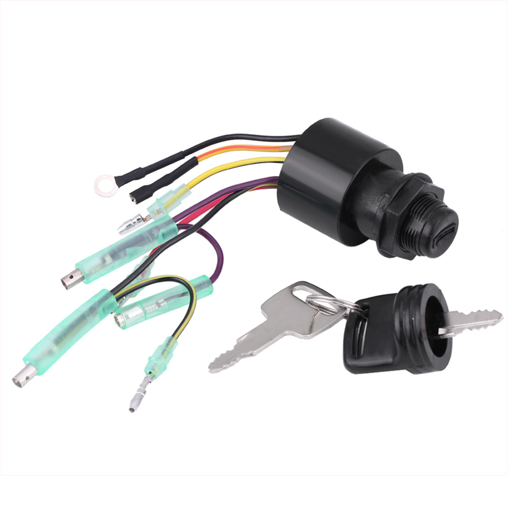 small resolution of boat ignition key switch assembly for mercury outboard remote control box 87 17009a5 new arrive