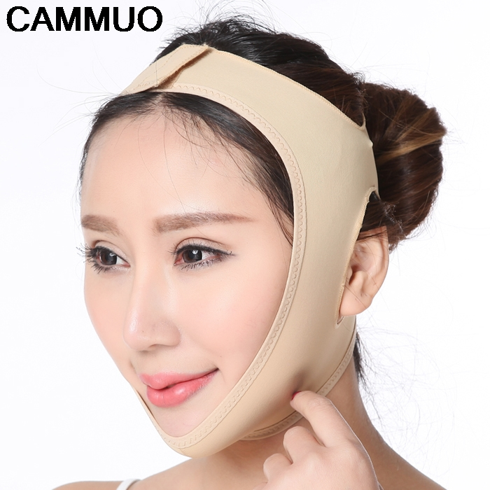 Facial Thin Face Mask Slimming Bandage Skin Care Belt Shape And Lift Reduce Double Chin Face Mask Face Thining Band v face lift up tape anti wrinkles aging double chin removal belt slimming lifting face slimmer mask bandage wrap