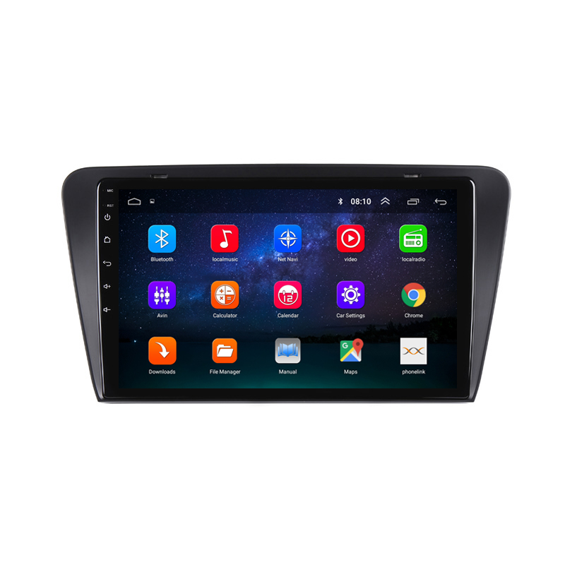 """Cheap 10.1"""" 2.5D IPS Android 8.1 Car DVD Multimedia Player GPS For Skoda Superb 2016 2017 2018 audio car radio stereo navigation 14"""
