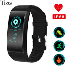 Smart Bracelet Heart Rate Monitor IP68 Waterproof Fitness Activity Tracker Smart Wristband Sports Watch Support IOS Android fashion bracelet smart wristband heart rate monitor smart watch sports running fitness tracker wristwatch for ios android phone