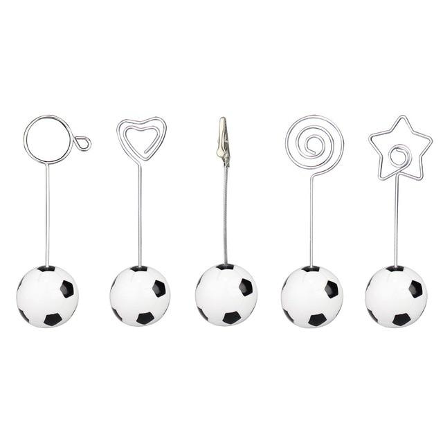 Fußball/fußball basis draht foto clip/memo halter, stand tabelle ort ...