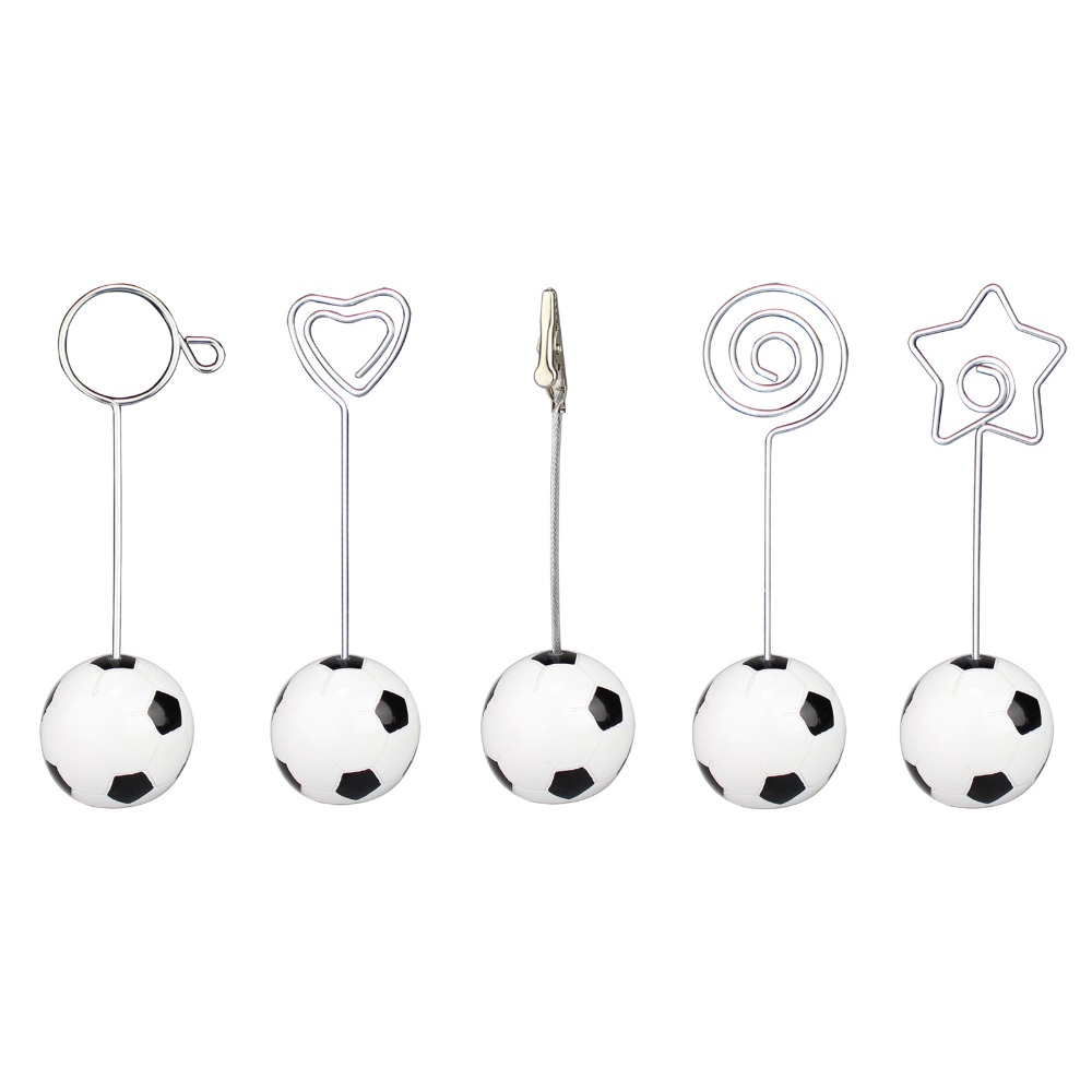 Aliexpress.com : Buy Soccer/football Base Wire Photo Clip/memo Holder,stand  Table Place Card Holder,sport Event Display Deco,paper Weight,wedding From  ...